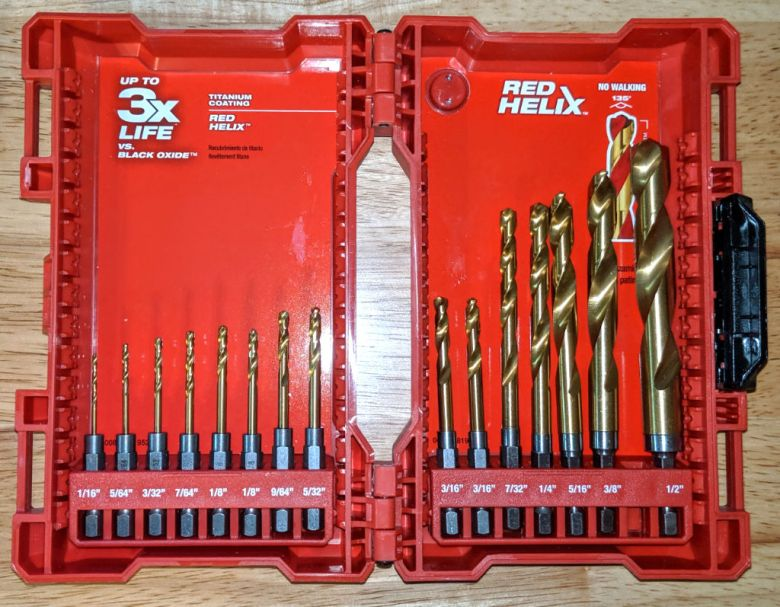 Milwaukee Red Helix Bit Case