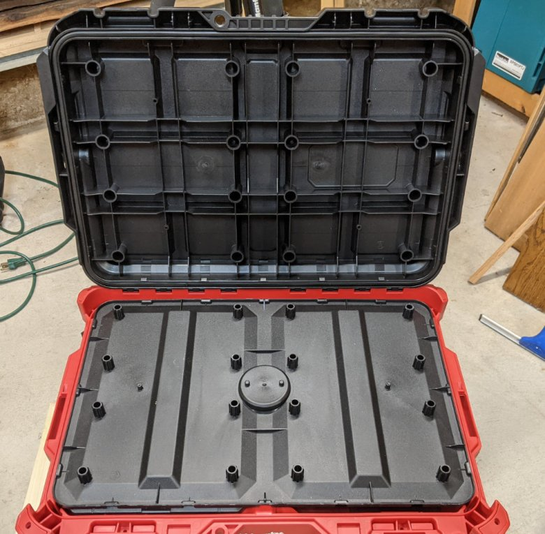 Large Packout Toolbox Lid
