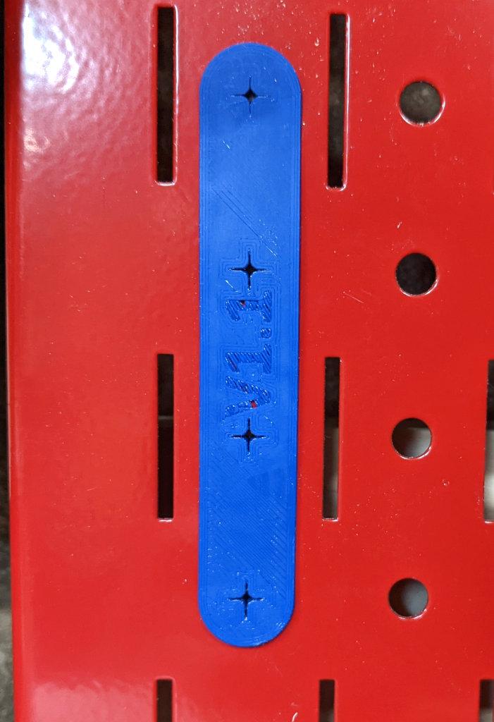 4x1 Pegboard Anchor