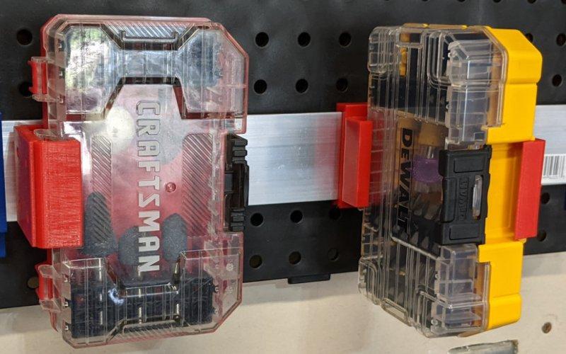 ToughCase+Medium Box Holder both Edge and Side Mount