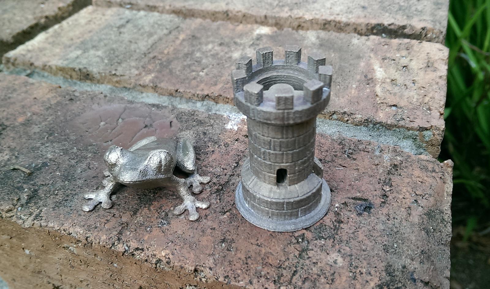 METAL CASTING 3D PRINTS