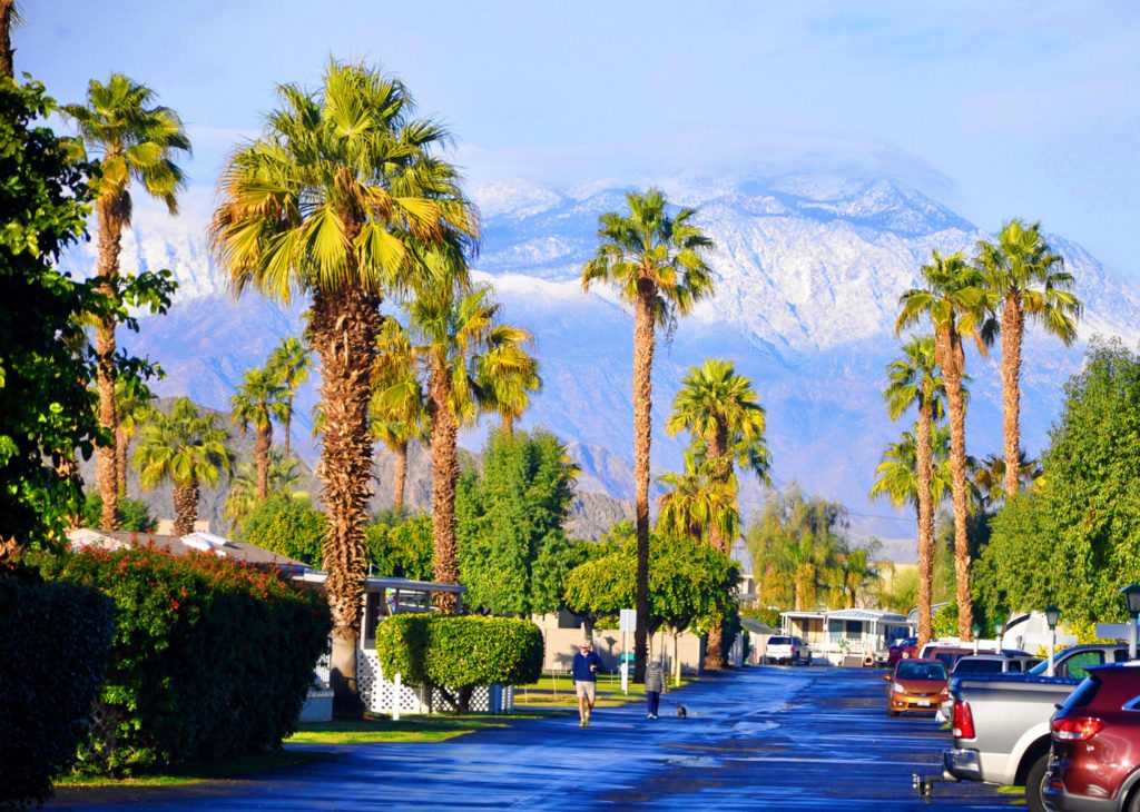 Palm Springs Rv Park In Southern California Indian Wells