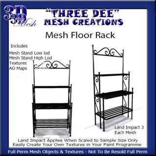 Mesh Floor Rack Kit AD Pic
