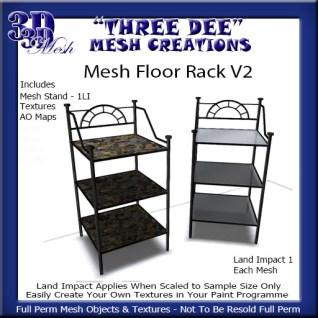 Mesh Floor RackV2 Kit AD Pic