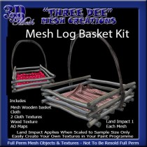 Mesh Log basket Kit AD Pic