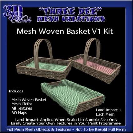 Mesh Woven baske t V1 Kit AD Pic