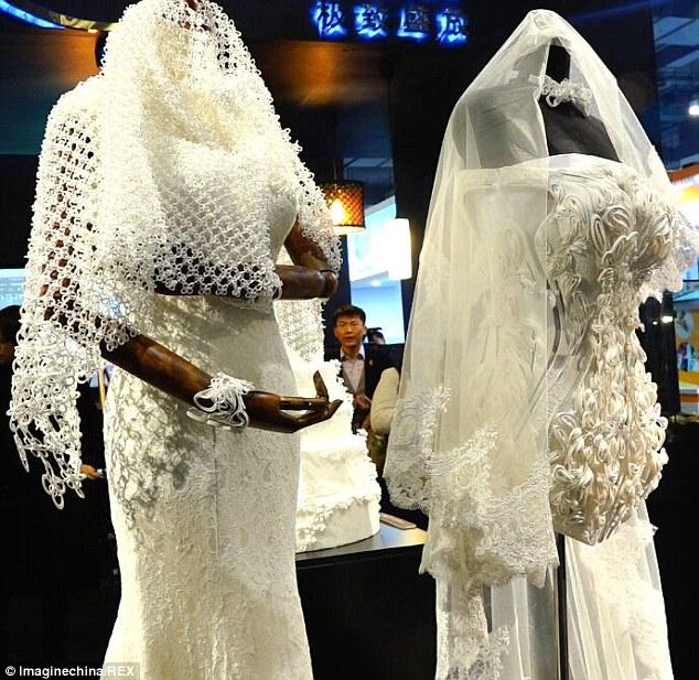 Ja ich will ein Brautkleid aus dem 3DDrucker  3Druckcom