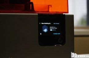 Das neue Touchscreen mit Vorschau des Objekts