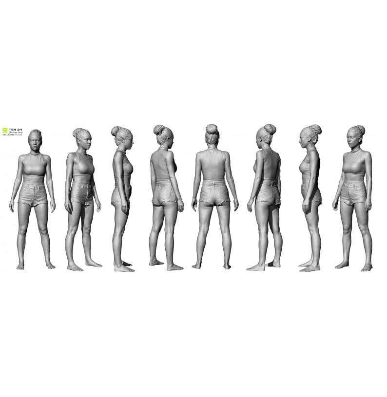Female Scan Bundle 01