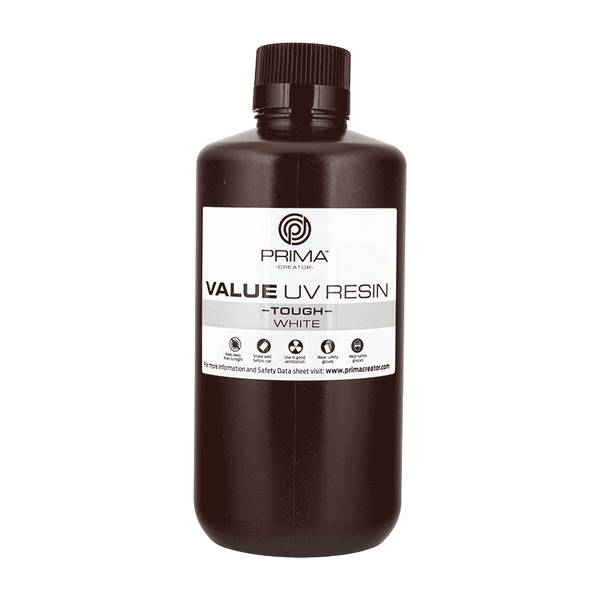 TOUGH UV DLP Resin WHITE 1000ml - PrimaCreator
