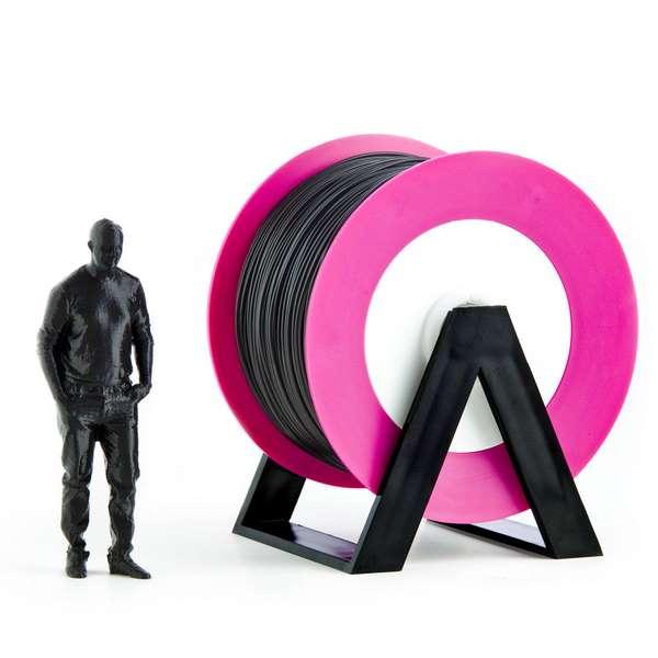 EUMAKERS PLA filament Black 1.75mm 1000g