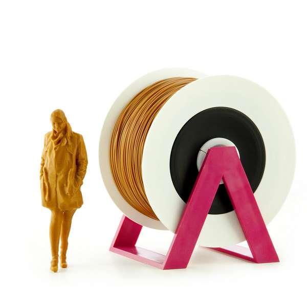 EUMAKERS PLA filament Brown 1.75mm 1000g
