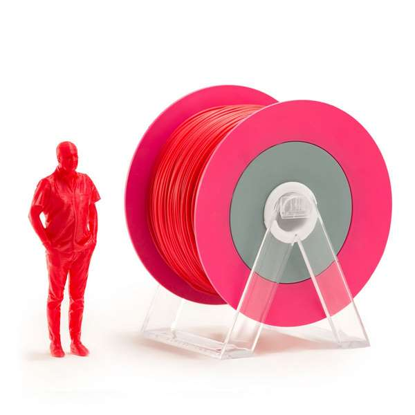 EUMAKERS PLA filament Glossy Red 1.75mm 1000g