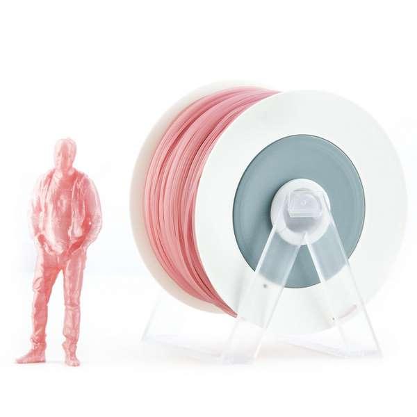 EUMAKERS PLA filament Pearl Pink 1.75mm 1000g