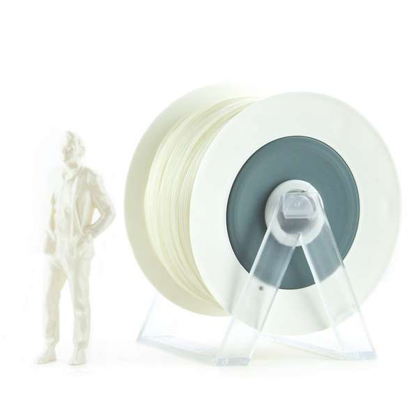 EUMAKERS PLA filament Pearl White 1.75mm 1000g