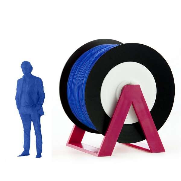 EUMAKERS PLA filament Fluorescent Blue 2.85mm 1000g
