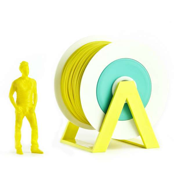 EUMAKERS PLA filament Mustard Yellow 2.85mm 1000g