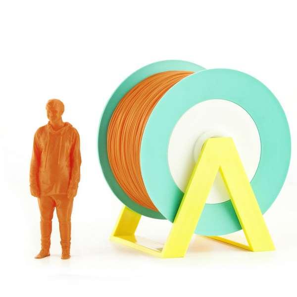 EUMAKERS PLA filament Orange 2.85mm 1000g