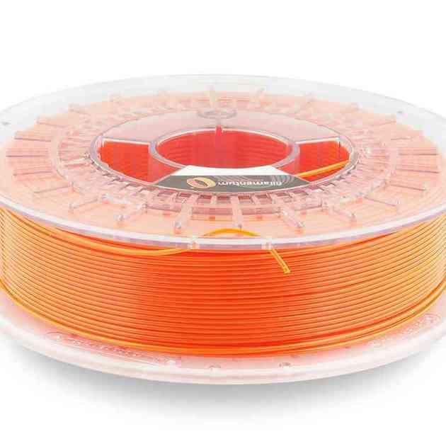 Fillamentum CPE HG100 Neon Orange Transparent 1.75mm 750g