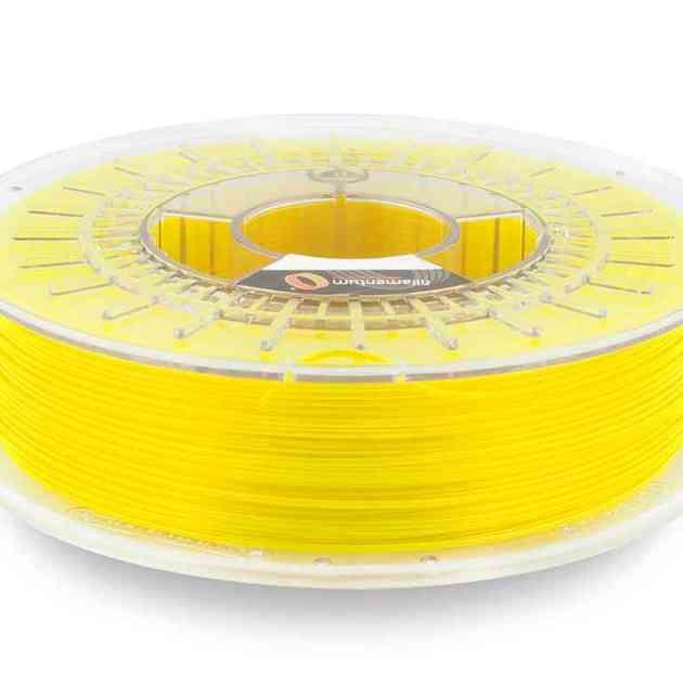Fillamentum CPE HG100 Neon Yellow Transparent 1.75mm 750g