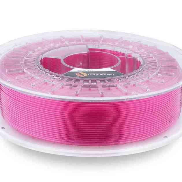 Fillamentum CPE HG100 Pink Blush Transparent 2.85mm 750g
