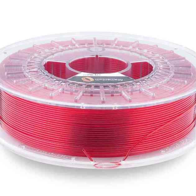 Fillamentum CPE HG100 Red Hood Transparent 2.85mm 750g