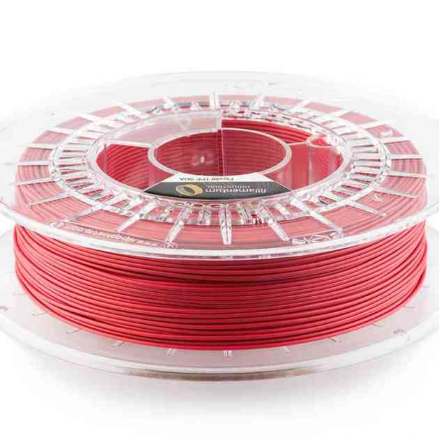 Fillamentum TPE 90A Flexfill Signal Red 1.75mm 500g