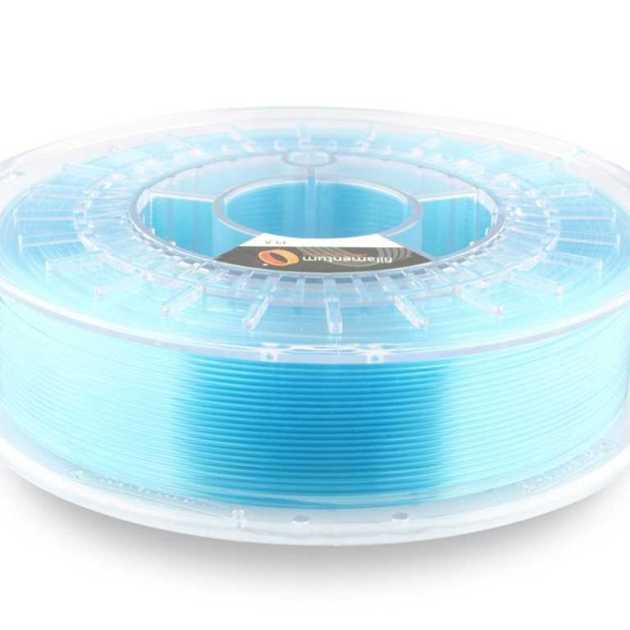 Fillamentum PLA Crystal Clear Iceland Blue 1.75mm 750g