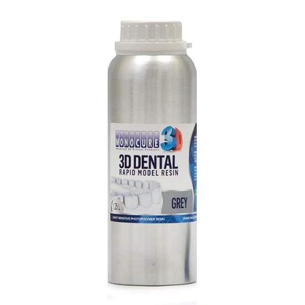 RAPID MODEL DENTAL Resin GREY 1250ml - Monocure3D