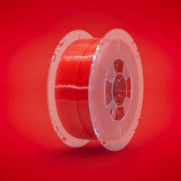 Lucent PLA filament Rubin Red 1.75mm 850g