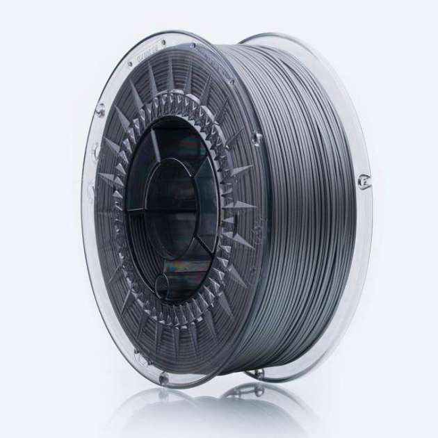 Smooth ASA filament Silver Shine 1.75mm 850g
