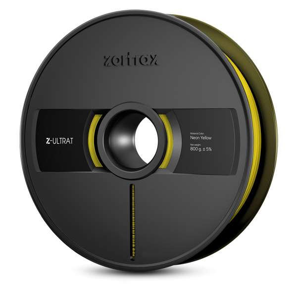 Zortrax Z-ULTRAT filament Neon Yellow 800g