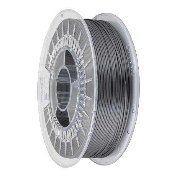 Glossy PLA filament Industrial Grey 1.75mm 750g - PrimaSelect