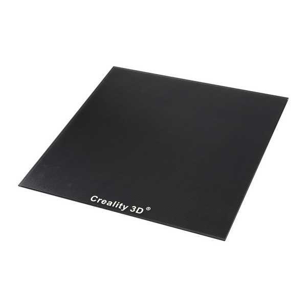 Creality 3D CR-10S 400 - Steklena plošča s posebnim kemičnim premazom 410 x 410 mm