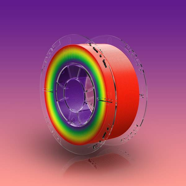 SmartFit PLA filament Rainbow 850g 1.75mm