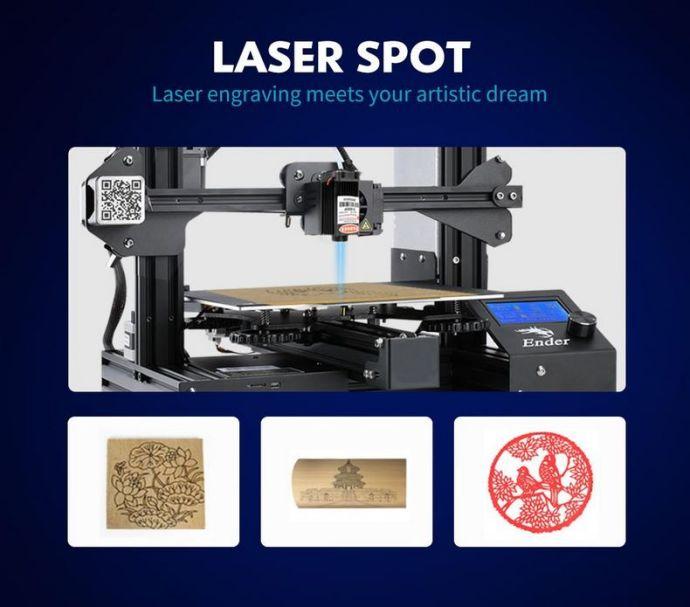 CREALITY Modul za lasersko graviranje
