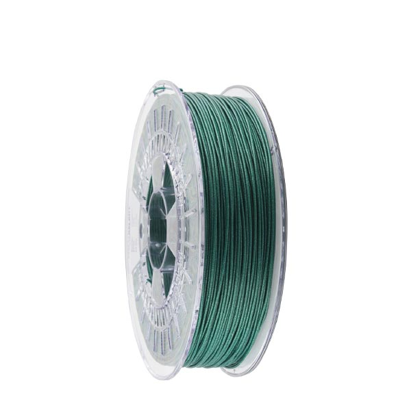 Metallic PLA filament Green 1.75mm 750g