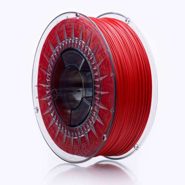 Smooth ABS Plus filament Cherry Red 1.75mm 850g