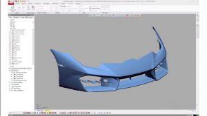Thiết kế ngược hãm xung ô tô - EviXscan3D Optima