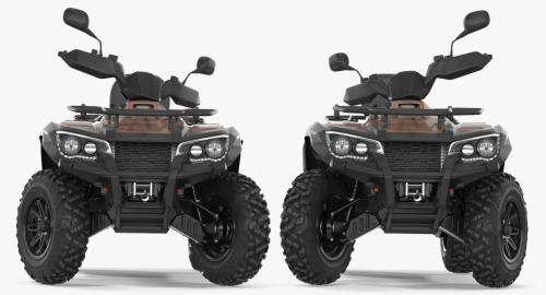 small resolution of 3d model atv four wheelers rigged collection