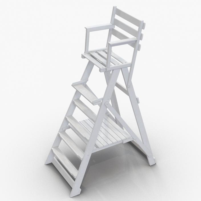 folding umpire chair bedroom swing 3d classic white molier international