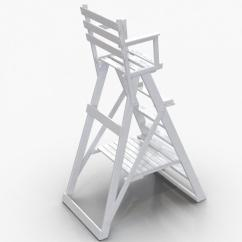 Folding Umpire Chair Revolving Lowest Price 3d Classic White Molier International