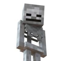 Minecraft Skeleton 3d model