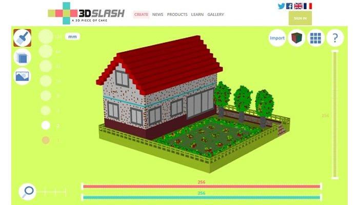 3d software 3d slash