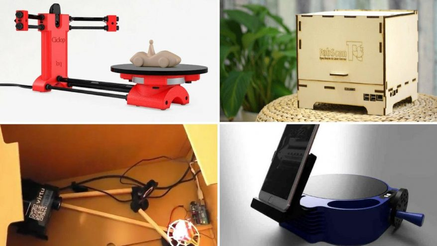 The Top 7 Best DIY 3D Scanners 2019 - 3DSourced