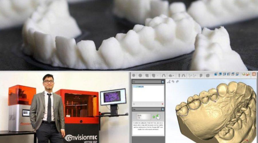 3d printed printing dental industry