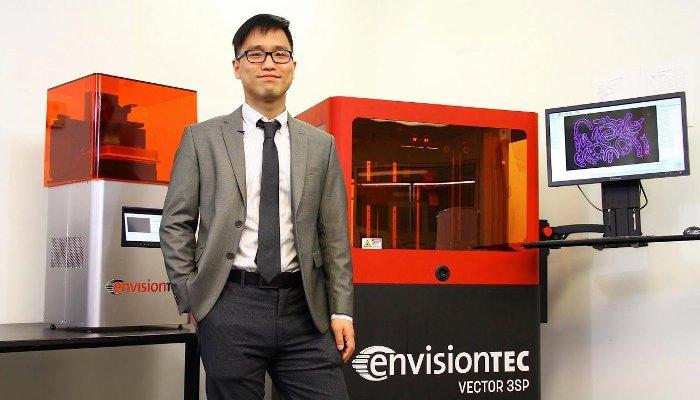 envisiontec dental 3d printer
