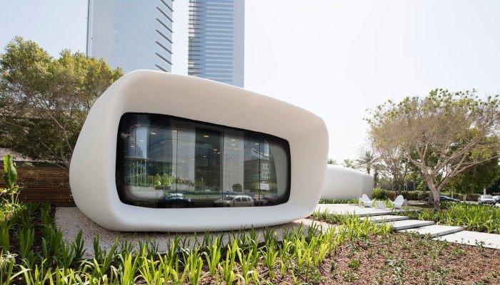 Dubai 3D printed house office
