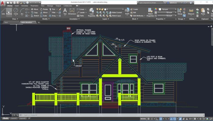 autocad professional 3d software