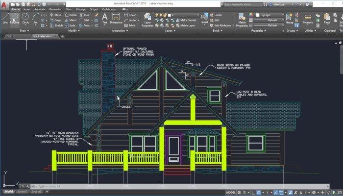 autocad professional 3d software